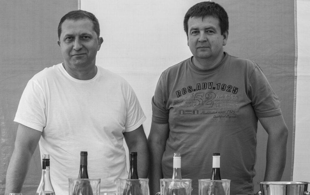 Andrzej Ligęzka i Adam Gałat